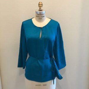 Teal Talbots blouse (size M)